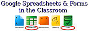 Google Spreadsheets & Forms in the Classroom