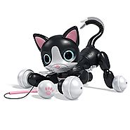 Zoomer Kitty, Interactive Cat - Black