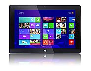 10'' Tablet Windows PC from Fusion5®, Now in Windows 10, Intel Baytrail-T CR (Quad-Core) Z3735F, Touch Screen, Blueto...