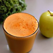 Kale, Carrot and Apple Calcium Booster