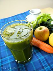 Morning Coffee Juice Recipe with Kale, Carrot, Celery and Apple