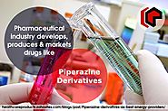 Properties of piperazine derivatives
