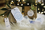 Free Watercolor Holiday Gift Tags Printables by M Stetson