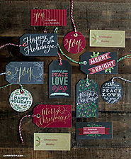 Printable Christmas Gift Tags and Labels from Worldlabel