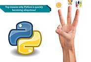 Python programming language continues its climb in developer popularity