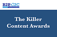 Killer Content Awards | Accompanies the Content2Conversion Conference