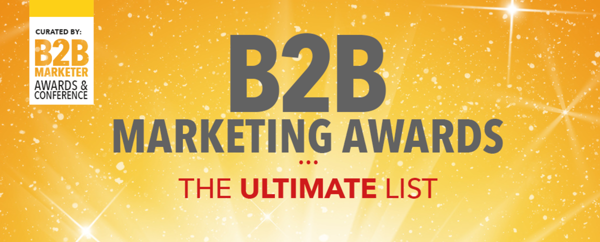 Headline for The Ultimate List of B2B Marketing Awards