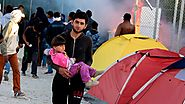Refugee riot breaks out on Greek island