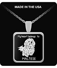 Maltese Fans Necklace