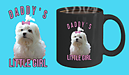 Maltese Dog Dads Mug For Fathers Day