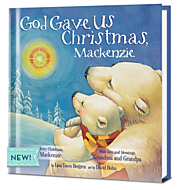 God Gave Us Christmas (personalized)