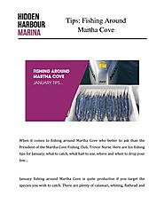 Tips: Fishing Around Martha Cove