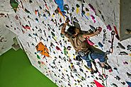 Learn How to Lead Climb at an Indoor Climbing Gym