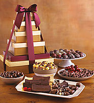 Deluxe Tower of Chocolates - Harry and David