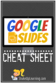 Google Slides CHEAT SHEET! (Free Download)