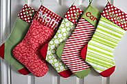 Easy to Make Your Own Christmas Stockings - Patterns for Making Christmas Stockings | Vanilla Joy