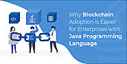 Why Blockchain Adoption is Easier for Enterprises with Java Programming Language?