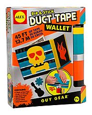 Rip and Stick Duct Tape Wallet Kit by ALEX Toys