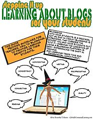 Stepping it Up- Learning About Blogs FOR your Students