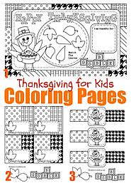 Thanksgiving Activities For Kids, Activities for Toddlers, Preschooler