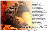 Thanksgiving Prayers 2015 | Catholics Thanksgiving Prayer 2015