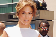 PHOTOS: Jennifer Lopez Has A Moment In Christian Dior