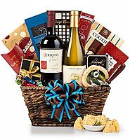 Best Holiday Wine Gift Baskets - Top Corporate Gourmet Gift Ideas