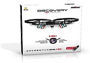 *Latest UDI 818A HD+ RC Quadcopter Drone with HD Camera, Return Home Function and Headless Mode* 2.4GHz 4 CH 6 Axis G...