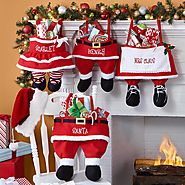 Santa Family Personalized Stocking