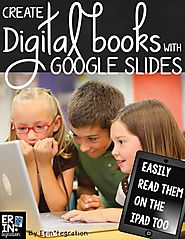Making digital books on Google Slides
