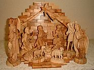 Nativity Set Olive Wood Excellent Workmanship
