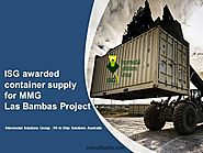ISG Awarded Container Supply for MMG Las Bambas Project