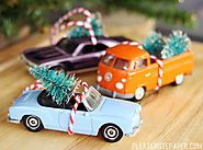 Please Note: DIY: Christmas Car Ornaments