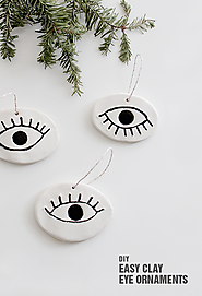 diy eye ornaments