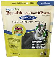 ARK Naturals PRODUCTS for PETS 326070 12-Ounce Breath-Less Chewable Brushless Toothpaste