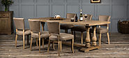 Wood Dining Tables - Authentic Furniture