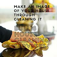 Make an image of your house through cleaning it