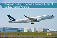 Baggage Policy, Reviews & Banned Items of Cathay Pacific Airlines | TripBeam Blog