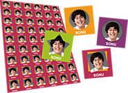 Online Personalized Stickers Printing - Flexi Print