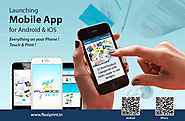 Flexi Print Online Printing Company brings Free Mobile Application for printing anything from anywhere. Available for...