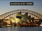 Emerald City of OZ - SYDNEY