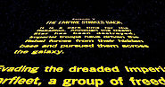 "Do yourself a favor and google the first words of ""Star Wars"" for a stupendous Easter egg."