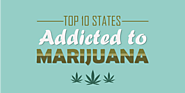 Top 10 States Addicted to Marijuana [INFOGRAPHIC] - Recovery Experts