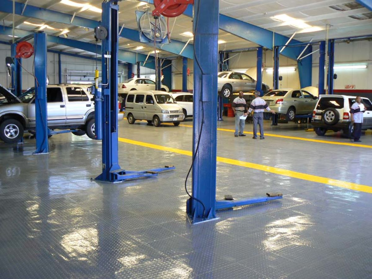 Headline for Top Garage Flooring and Coating Materials in 2015