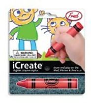 Fred & Friends iCREATE Crayon Touchscreen Stylus