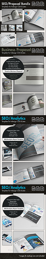 SEO - Business Proposal Templates Bundle