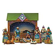 Jim Shore Heartwood Creek from Enesco Mini Nativity Figurine