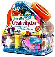 Busy Kids Creativity Jar, Over 500 Crafting Items
