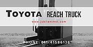 Toyota Reach Truck for Rent in India from Jubilant Marketing