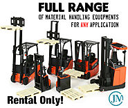Heavy Duty Material Handling Equipments Rental India